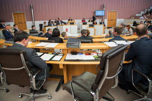 In den Reihen der ÖVP im Landtag ist derzeit ein Stuhl frei. Harald Witwer, Bürgermeister von Thüringen, übernimmt ihn. VN/Steurer