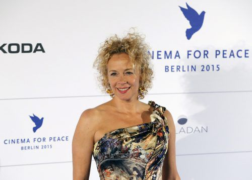 """In der Gesellschaftssatire """"Herrliche Zeiten"""" spielt Katja Riemann eine Frau in einer Sinn- und Lebenskrise. Reuters"""