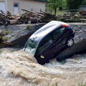 Heftige Unwetter in Deutschland