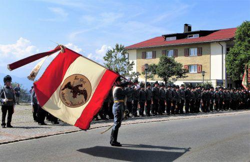 In Sulzberg wird Fronleichnam bereits seit 175 Jahren mit der historischen Bürgerschützenkompanie feierlich begangen. Kassandra Giselbrecht
