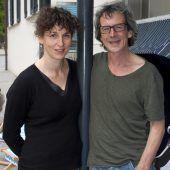 <p>Intendantin Susi Claus mit ihrem Programmpartner Peter Müller.</p>