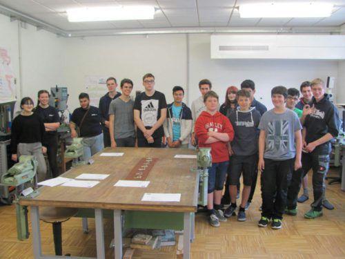 Interessantes gemeinsames Technikprojekt der Polytechnischen Schule Bezau und des Gymnasiums Schoren. pts Bezau