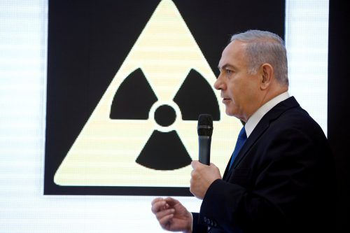 Israels Premierminister Benjamin Netanyahu warf dem Iran vor, das Atomabkommen von 2015 gebrochen zu haben. reuters