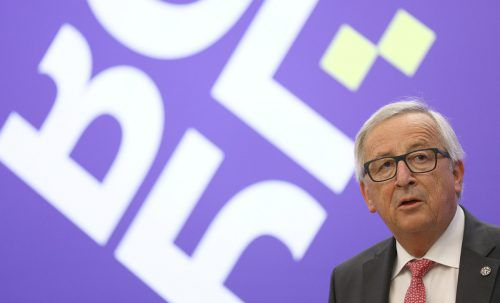 Jean-Claude Juncker: Europäische Unternehmen müssen geschützt werden. reuters