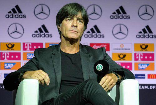 Joachim Löw hat seinen Vertrag als Bundestrainer in Deutschland bis 2022 verlängert. AFP