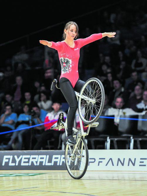 Juniorenweltrekordhalterin Julia Walser geht bei der U-19-EM am Wochenende in Bazenheid als Favoritin ins Rennen. GEPA