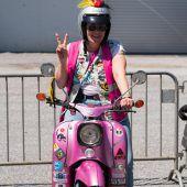 Entschleunigte Biker