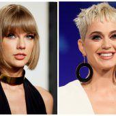 Katy Perry lenkt im Streit mit Taylor Swift ein