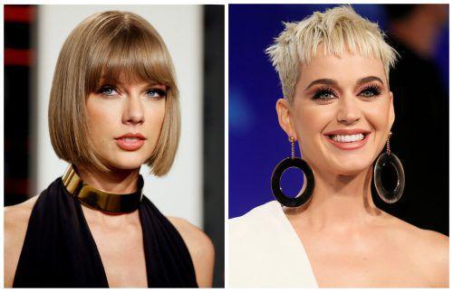 Katy Perry (r.) macht Taylor Swift ein Friedensangebot. RTS