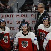 Gegen Weißrussland um den Klassenerhalt
