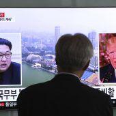 Nordkorea droht USA mit Absage des historischen Gipfeltreffens