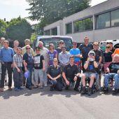 """<p class=""""caption"""">Lebenshilfe und Polizei hatten am Samstag gemeinsam großen Spaß bei der Besichtigung der Dienststelle.LOA</p>"""