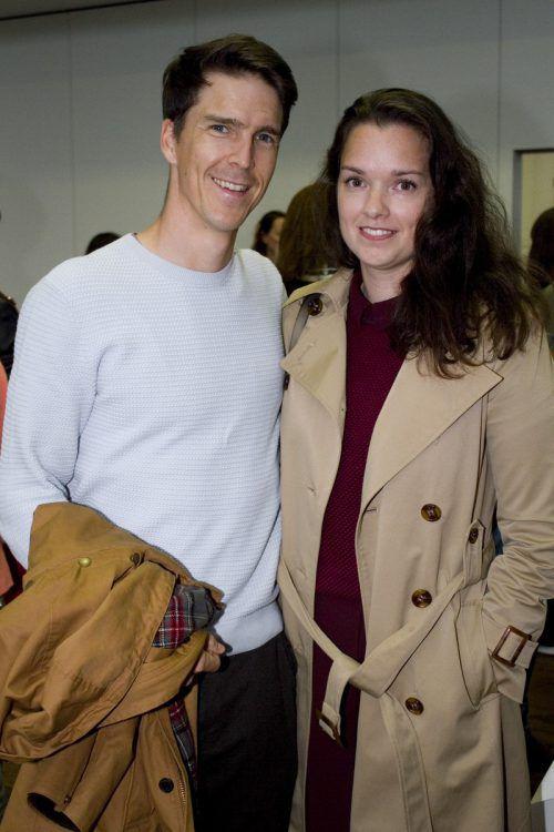 Martin Fischer und Theresa Baldauf.