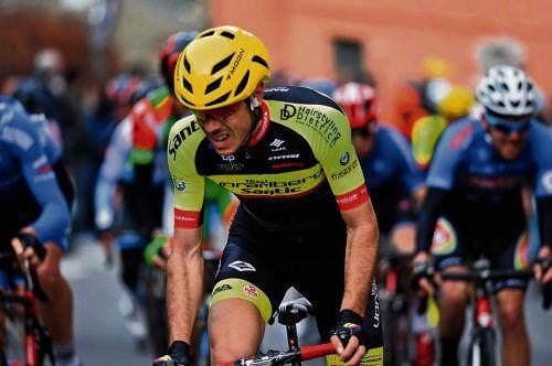 Matteo Badilatti zeigte in Frankreich mit Rang sieben auf.VS