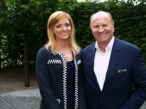 Mit dabei waren auch Festspielpräsident Hans-Peter Metzler und Kathrin Cometto.