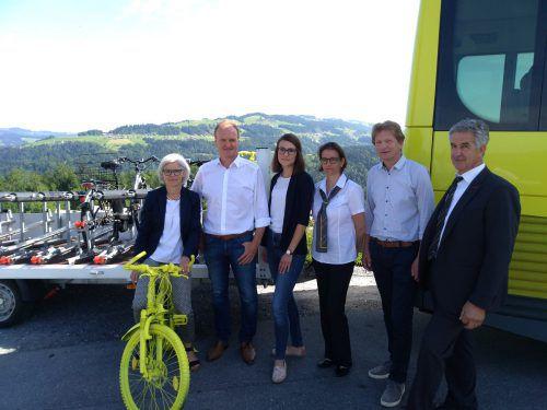 Mit dem ersten Fahrrad-Bus mit Anhänger werden Radausflüge im und in den Bregenzerwald deutlich einfacher. regio bregenzerwald