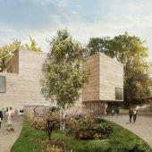 Zumthor-Erweiterungsbau am Beyeler-Museum vor Realisierung