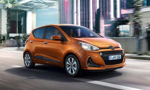 Mit nicht einmal 3,7 Metern Länge ist der viertürige Hyundai i10 von besonders würziger Kürze. Angetrieben wird er von Dreizylinder-Benzinmotoren.