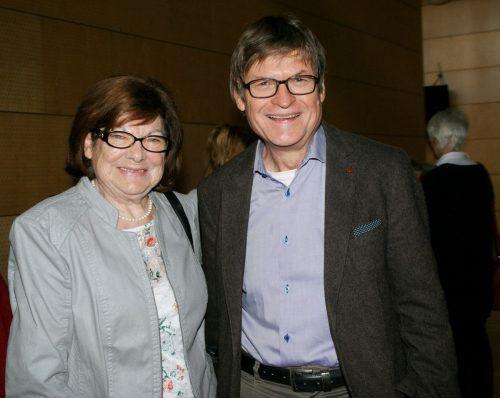Mundartdichter Annelies Zerlauth und Erwin Messmer.