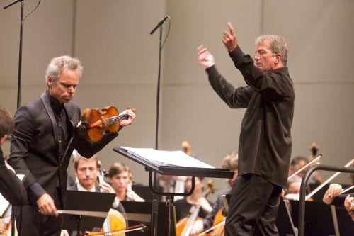 Nach 13 Jahren mit Gérard Korsten als Chefdirigent des SOV ging am Wochenendeim Montforthaus eine Ära zu Ende. Mathis