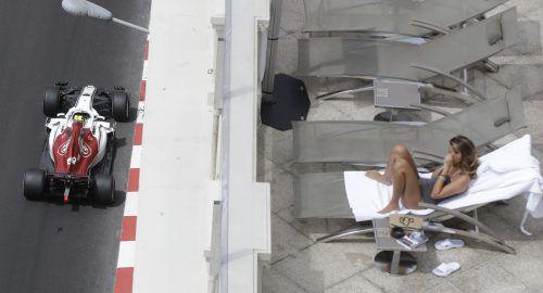"""Nach 24 Jahren ist mit Charles Leclerc beim Formel-1-Grand-Prix von Monaco wieder ein """"echter"""" Monegasse am Start. Der 20-jährige Sauber-Pilot gilt als Megatalent, das alle Nachwuchsklassen dominierte.ap"""