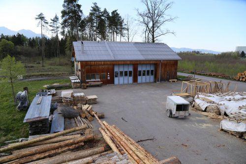 Neben einer Hackschnitzelanlage soll auch ein neues Verwaltungsgebäude in Gisingen entstehen.VN