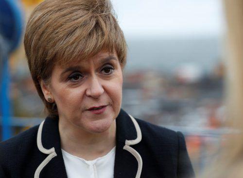Nicola Sturgeon warnte vor Brexit-Gesetz der britischen Regierung. reuters