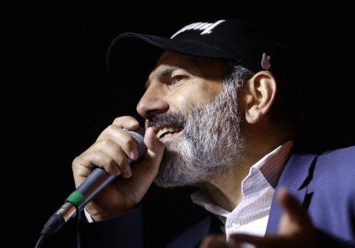 Nikol Paschinjan wird nicht Armeniens neuer Regierungschef. ap