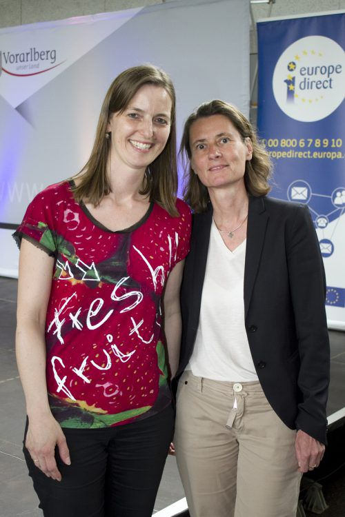 Organisatorinnen: Martha Stüttler-Hartmann (l.) und Martina Büchel-Germann.