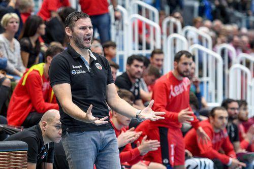 Petr Hrachovec sieht seine Mission als Hard-Trainer noch nicht erfüllt und zeigt sich kämpferisch.gepa