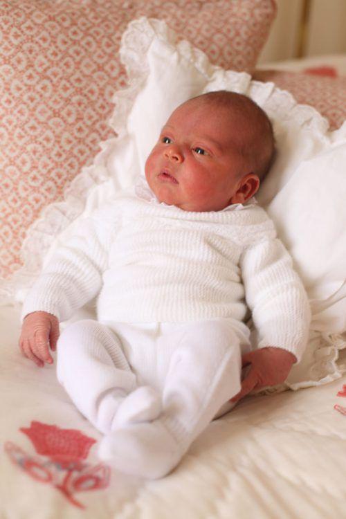 Prinz Louis kam am 23. April zur Welt.