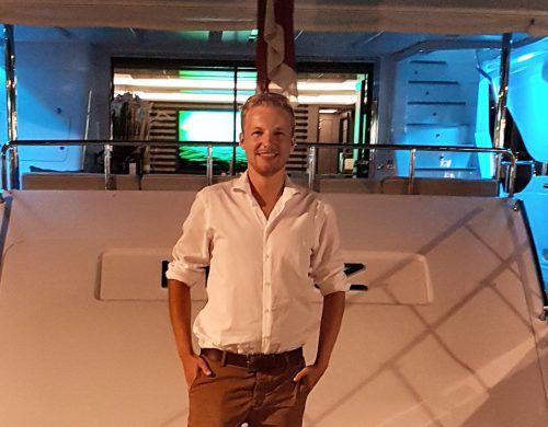 Raphael Klobassa freut sich auf ein Wiedersehen mit seinen ehemaligen Klassenkolleginnen und -kollegen von der HAK Bregenz.Klobassa