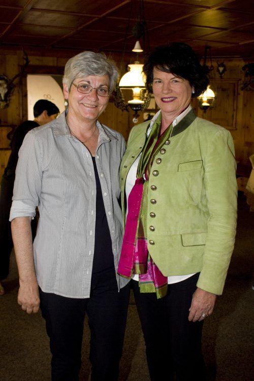 Rita Schelling (l.) und Christina Tauber (Ochsen Bildstein).