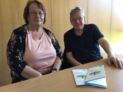 Ruth Leutgeb und Othmar Walser wollen Betroffenen helfen. vn/mm