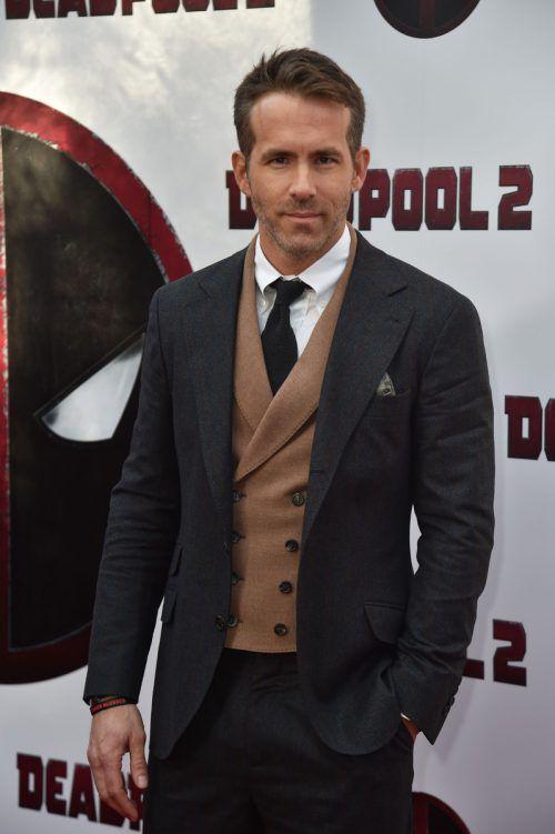 Schauspieler Ryan Reynolds gehen seine beiden Kinder über alles. afp