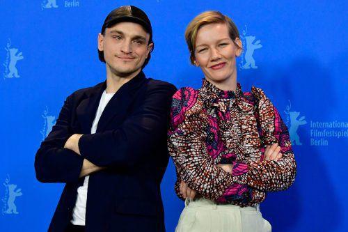 """Schauspielerin Sandra Hüller ist ab Freitag mit ihrem Filmpartner Franz Rogowski im Kino mit dem Film """"In den Gängen"""" zu sehen.afp"""