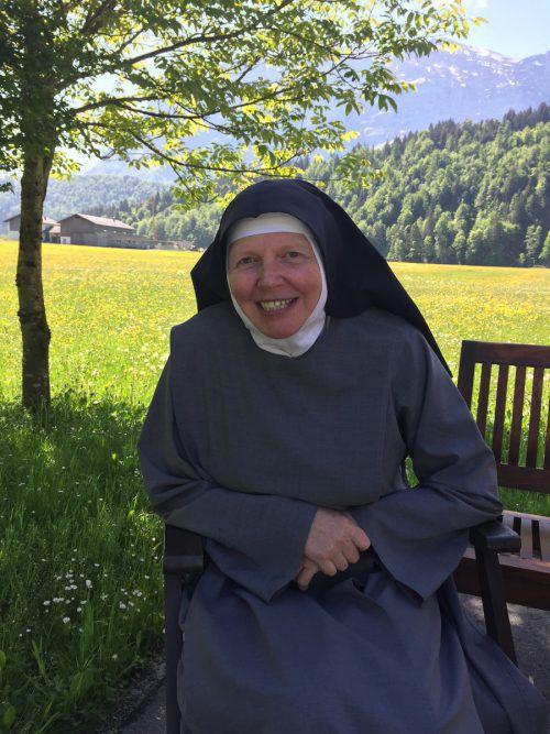 """Schwester Dominica lebt seit vielen Jahren als Eremitin. """"Ich habe ein erfülltes Leben und will kein anderes"""", sagt sie. VN/kum"""