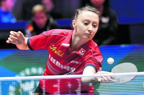 Sofia Polcanova holte im Viertelfinale zwei Punkte für Österreich. ap