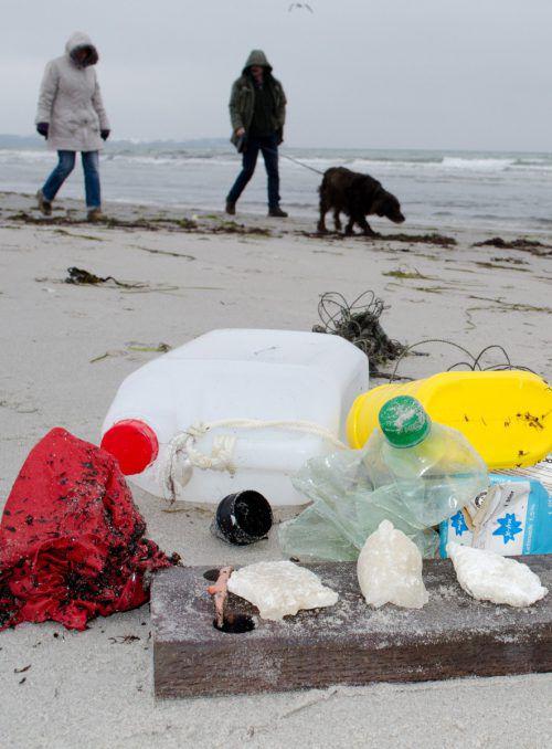 Die Verschmutzung der Meere und Strände durch Plastik nimmt zu.DPA