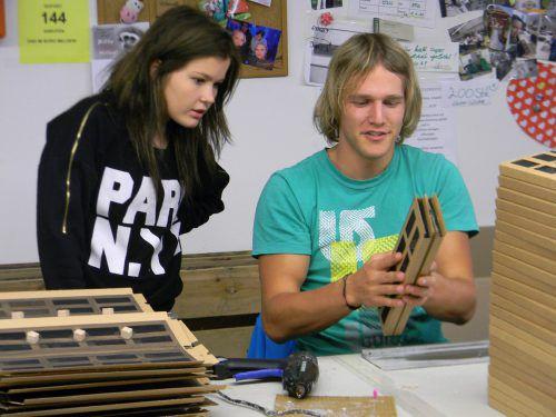 Einrichtungen wie die Dornbirner Jugendwerkstätten bereiten Jugendliche auf den ersten Arbeitsmarkt vor.Fa/SU