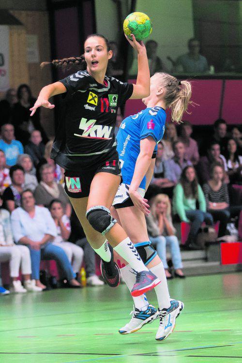 SSV-Goalgetterin Fabienne Tomasini muss erstmals in ihrer Karriere wegen gesundheitlicher Probleme in einem Ländle-Derby passen.Steurer
