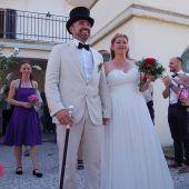 Hochzeitsfeier am Badestrand