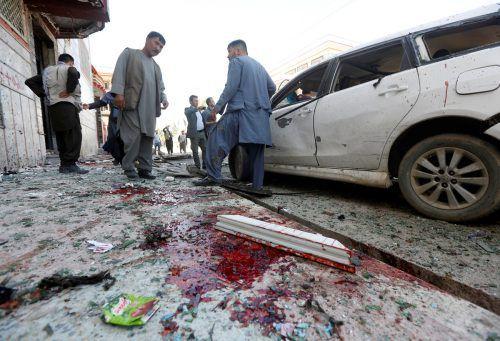Suizid-Attentate gehören in Afghanistan zum Alltag.Reuters