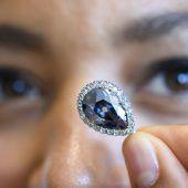 Royaler blauer Diamant für 5,6 Millionen Euro versteigert