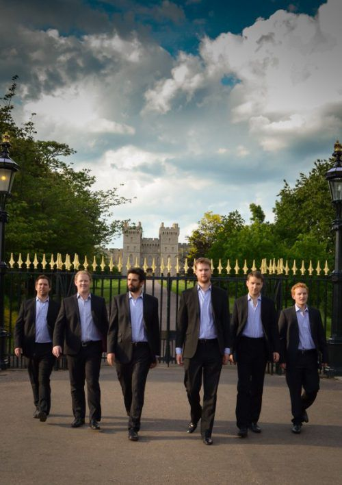 The Queen's Six wurden 2008 zum 450-Jahr-Jubiläum der Krönung von Queen Elisabeth I. gegründet.the queen's six