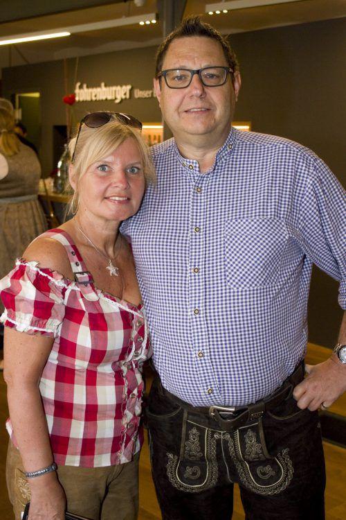 Unter den Gästen in Bludenz: Markus und Anita Walch.