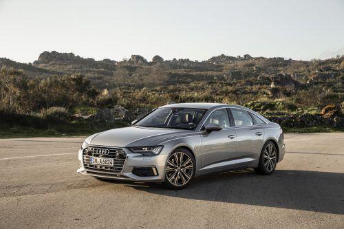 Upgrade in der Business-Klasse: Audi hält dieses Versprechen eindrucksvoll, wie erste VN-Testfahrten gezeigt haben.werk