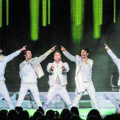 Neue Show mit den besten Hits der größten Boygroups aller Zeiten