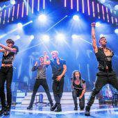 Die Hits der größten Boybands in einer spektakulären Show