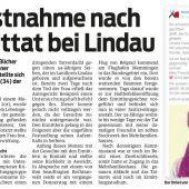 Prozessauftakt nach mutmaßlichem Mord bei Weißensberg